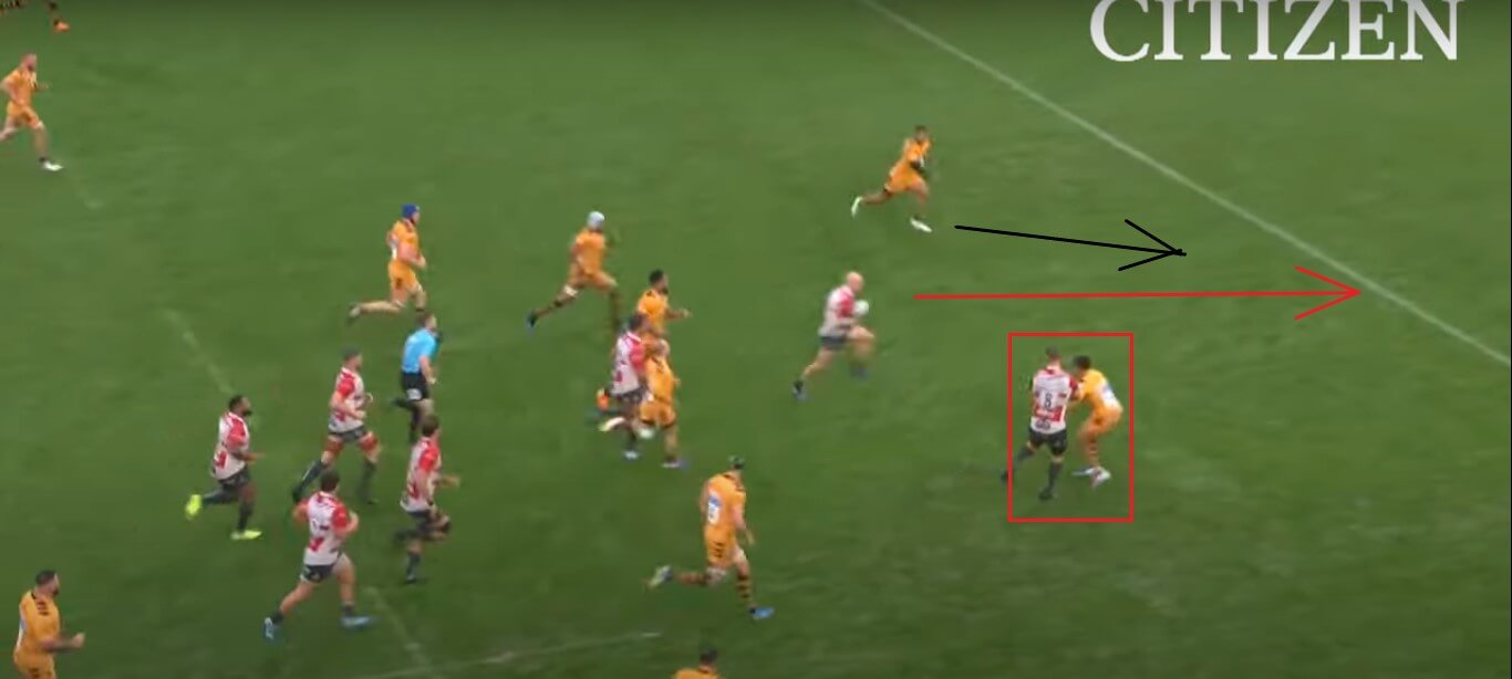 Joe Simpson: Gloucester v Wasps, 2019 - try analysis