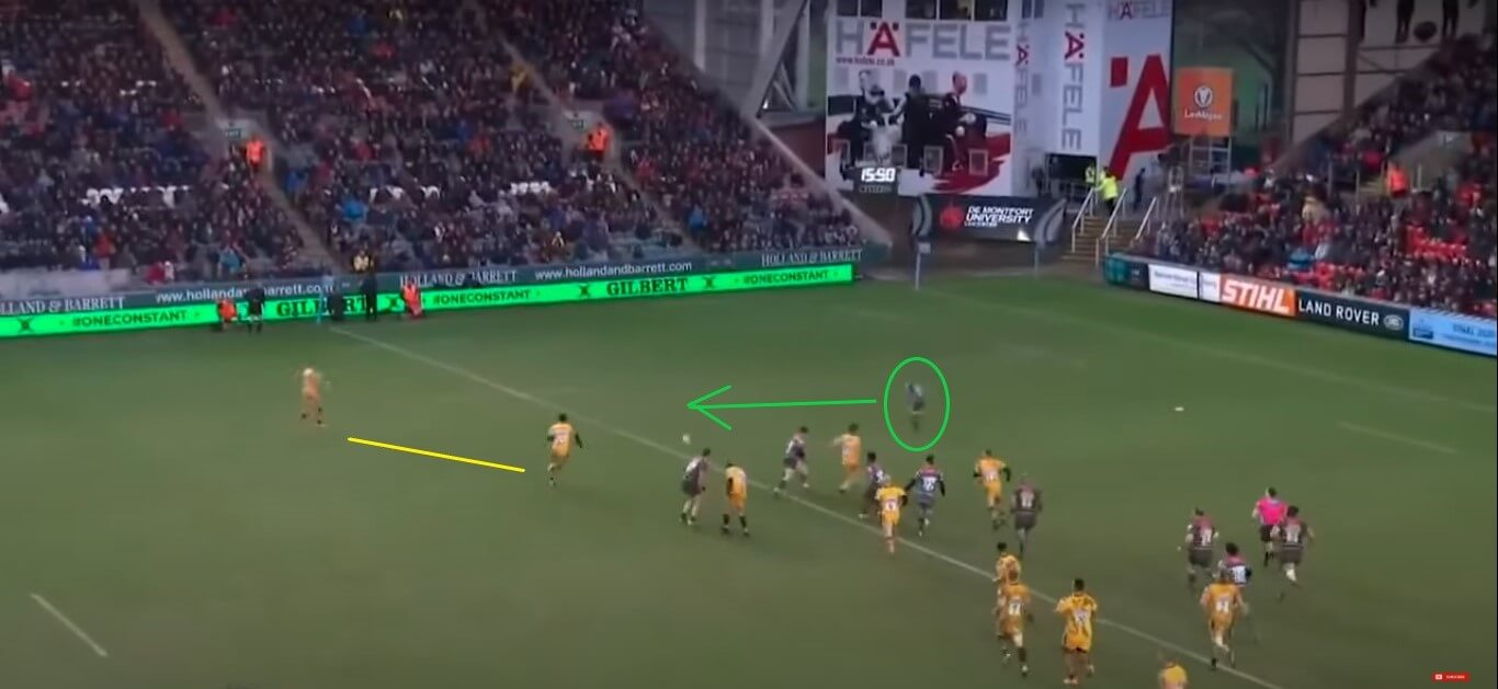 Telusa Veainu: Leicester Tigers v Wasps, 2020 - try analysis