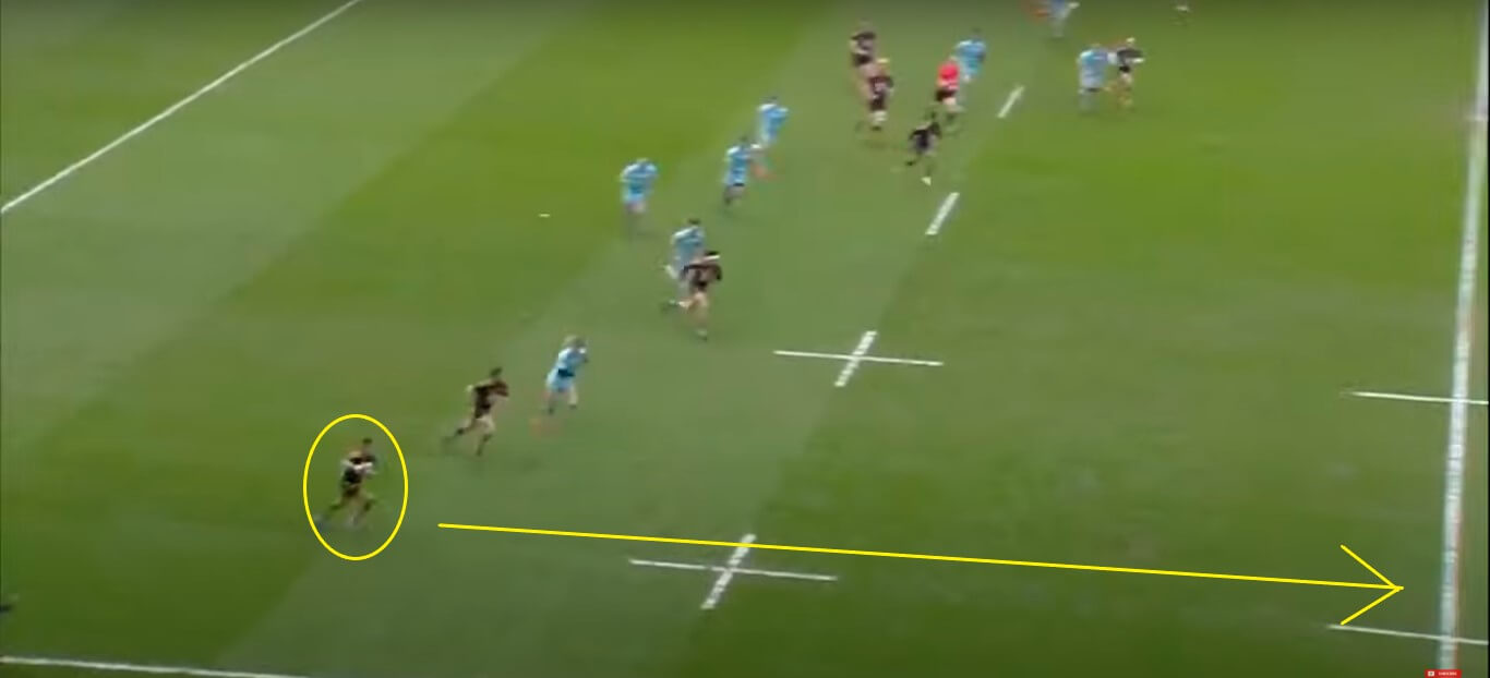 Jacob Umaga: Wasps v Gloucester, 2019 - try analysis