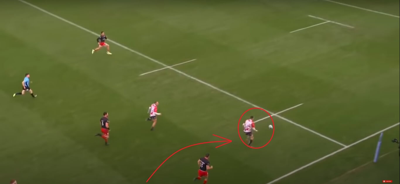 Tom Marshall: Gloucester Rugby v Saracens, 2019 - try analysis