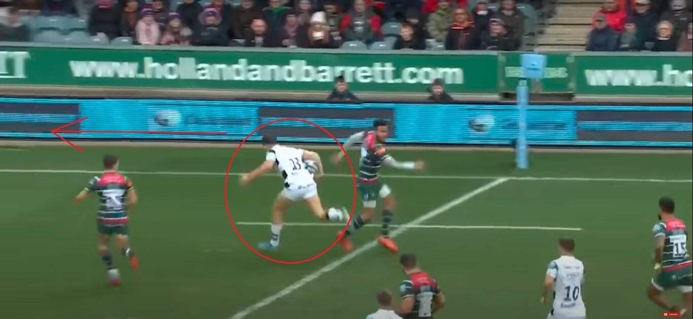 Piers O'Conor: Leicester Tigers v Bristol Bears, 2020 - try analysis