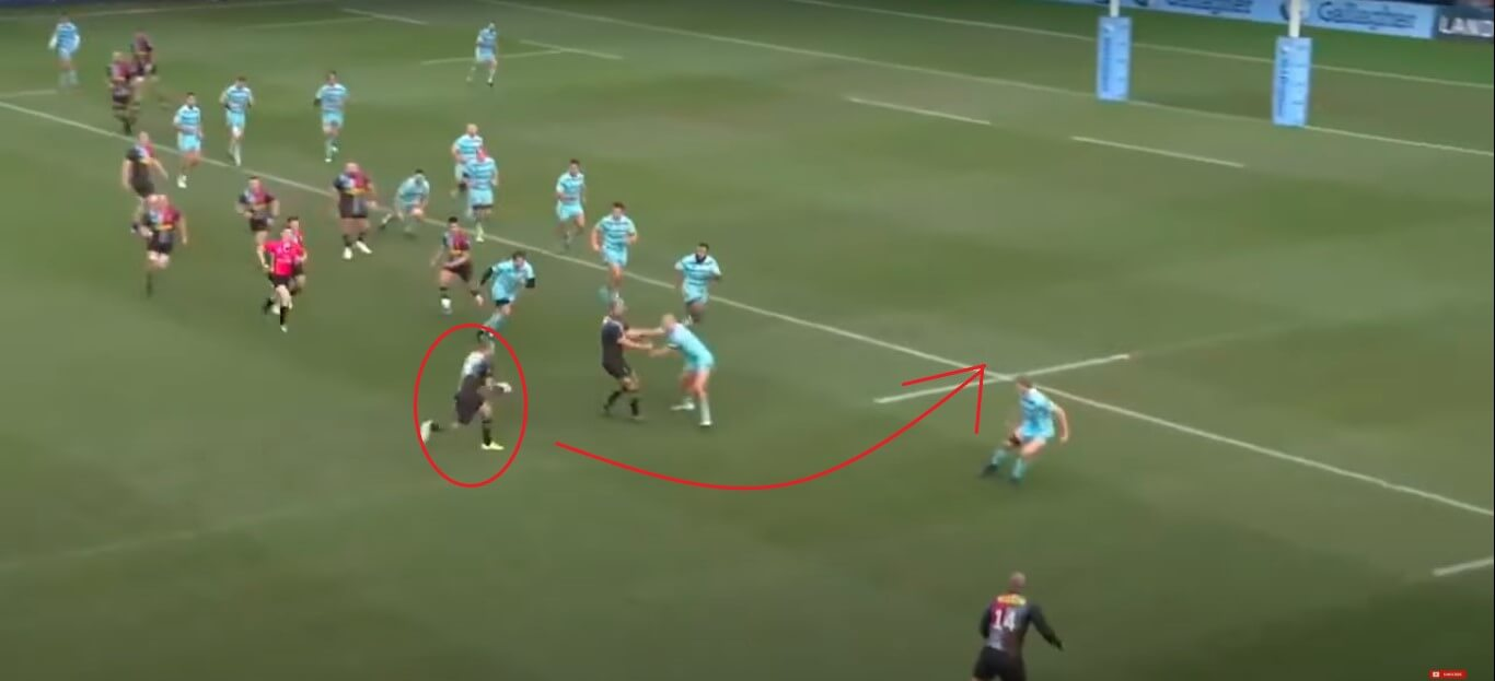 Ross Chisholm: Harlequins v Gloucester, 2019 - try analysis