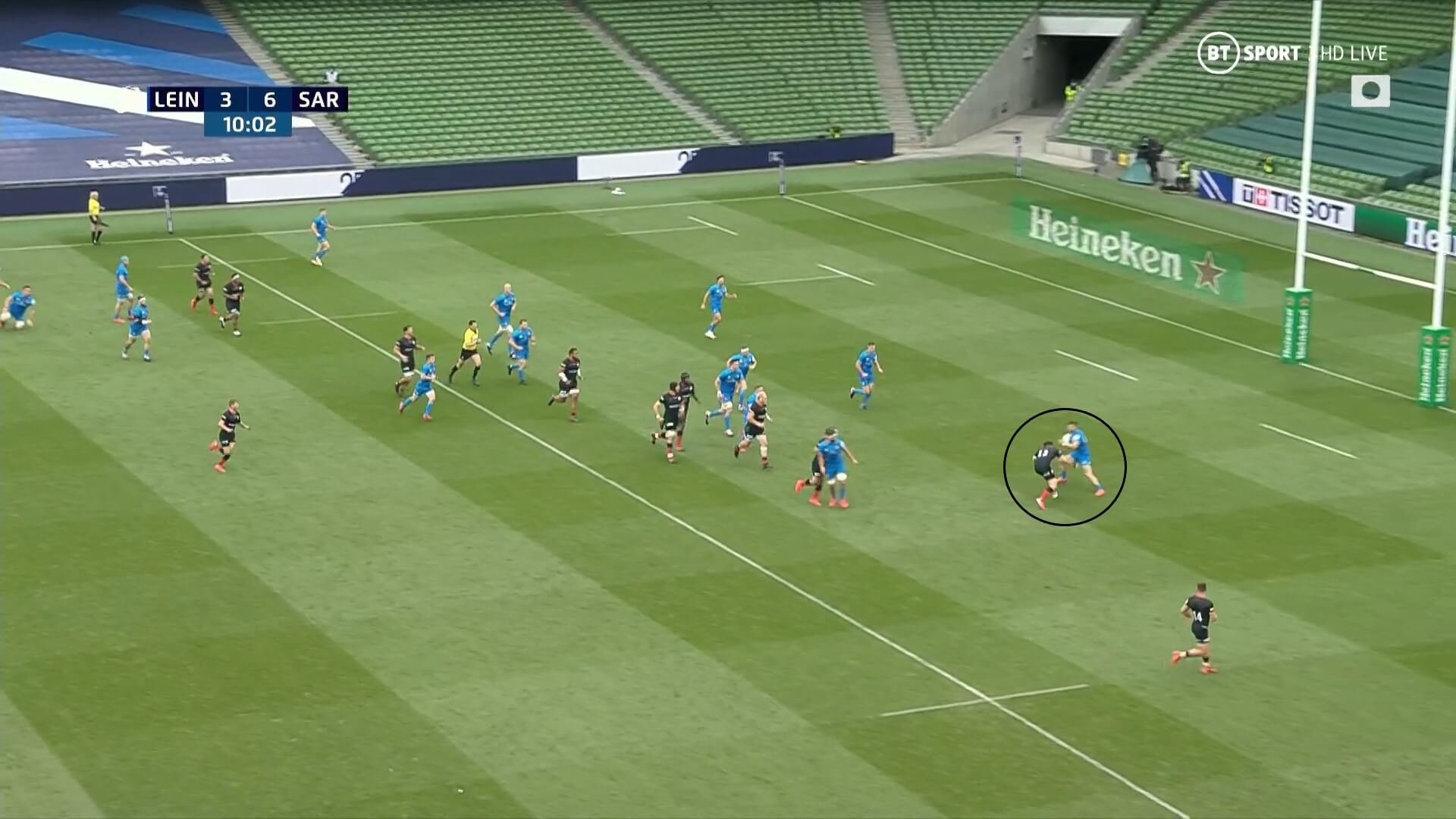 European Rugby Champions Cup 2019/2020: Leinster v Saracens - tactical analysis analysis