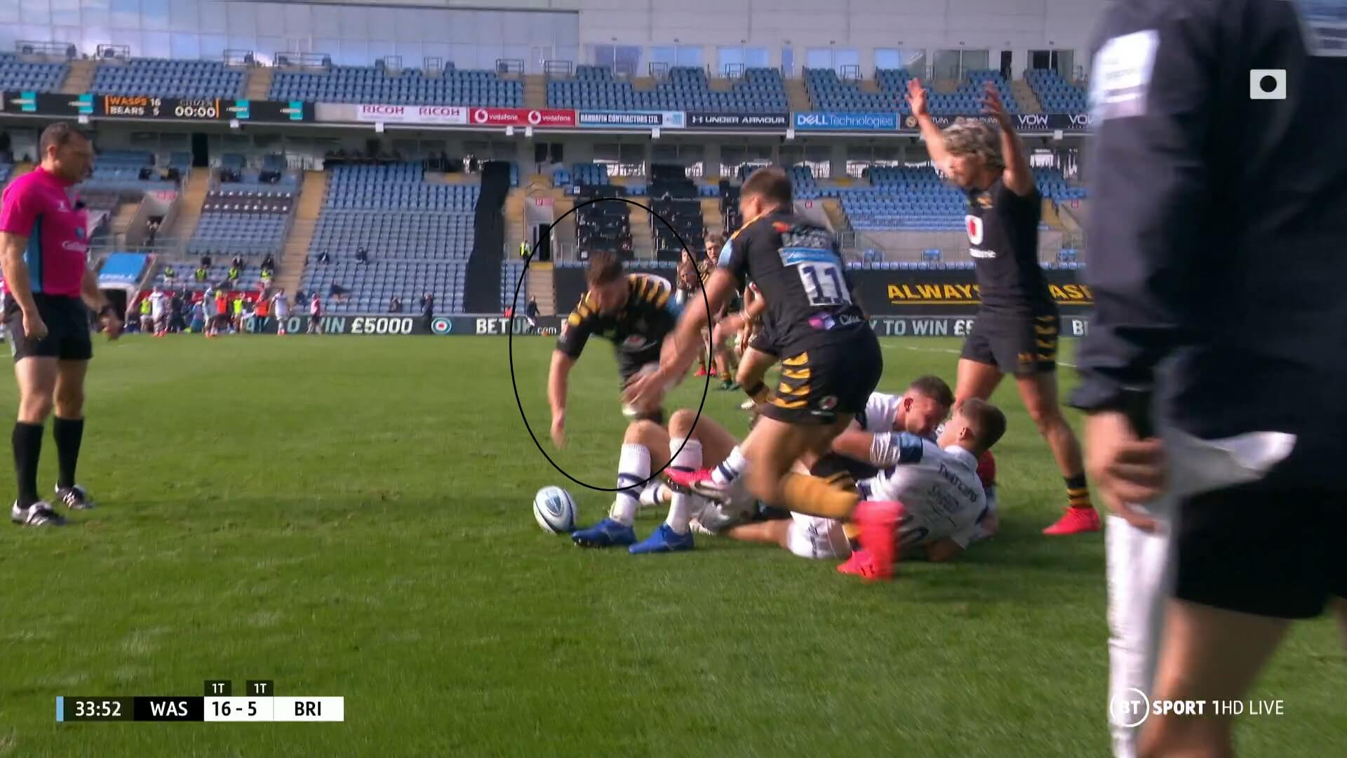 English Premiership 2019/2020: Wasps v Bristol Bears - tactical analysis tactics