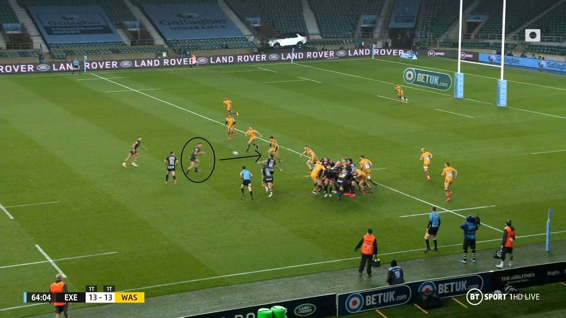 English Premiership 2019/2020: Exeter Chiefs v Wasps - tactical analysis tactics