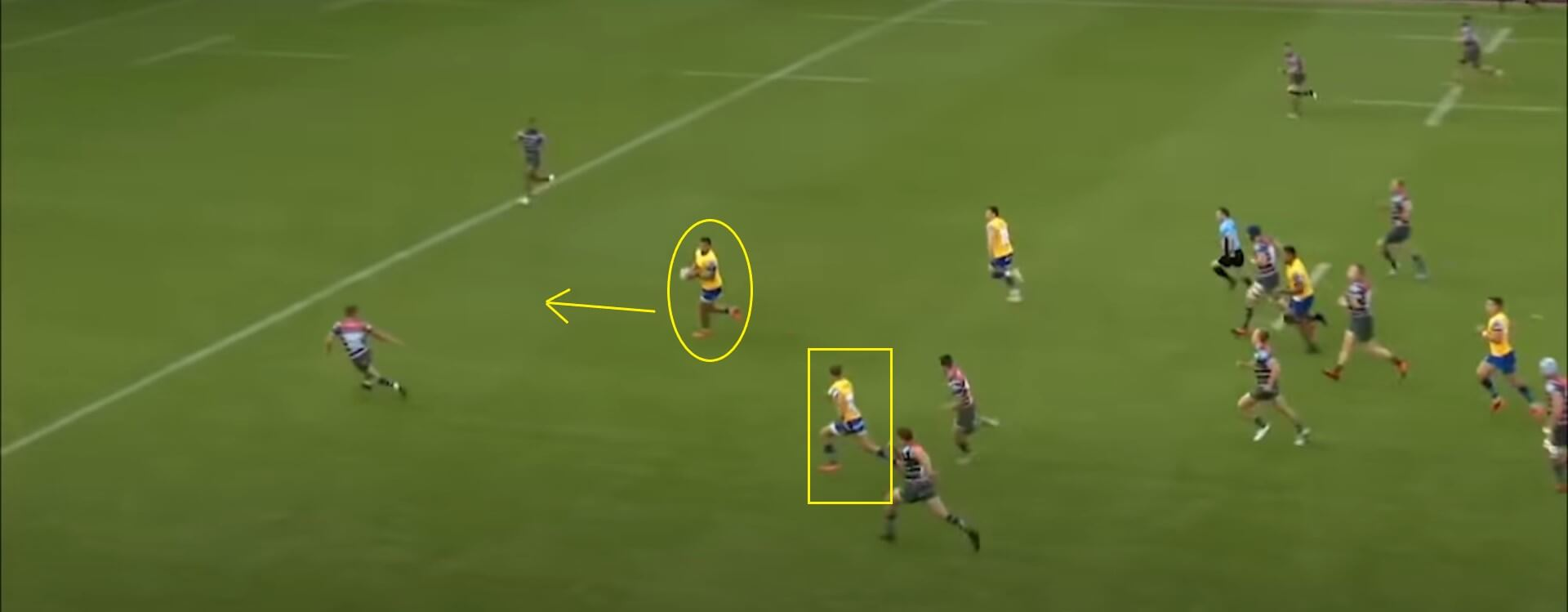 Tom de Glanville: Leicester Tigers v Bath, 2020 - try analysis