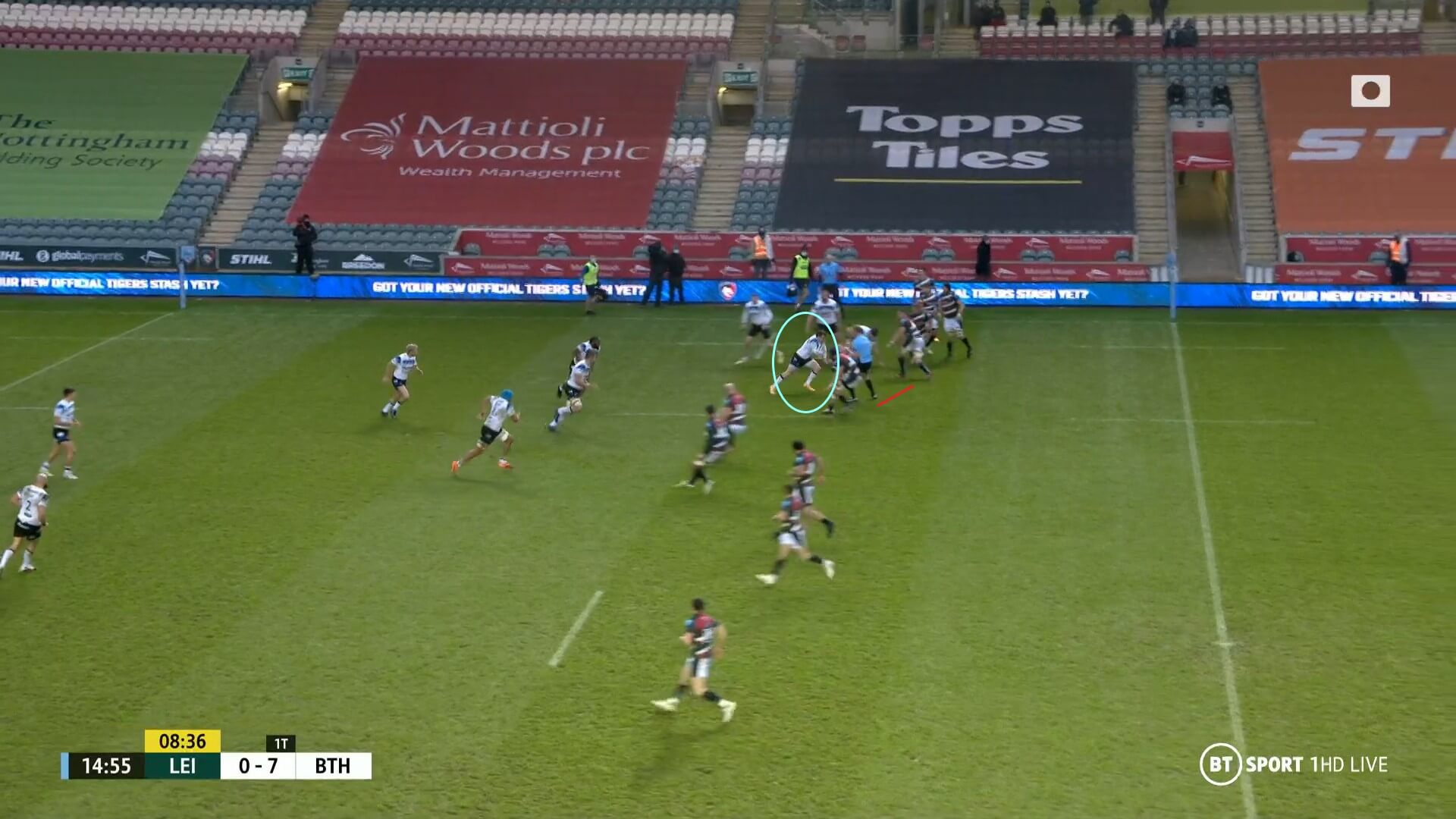 English Premiership 2020/2021: Leicester Tigers v Bath - tactical analysis tactics