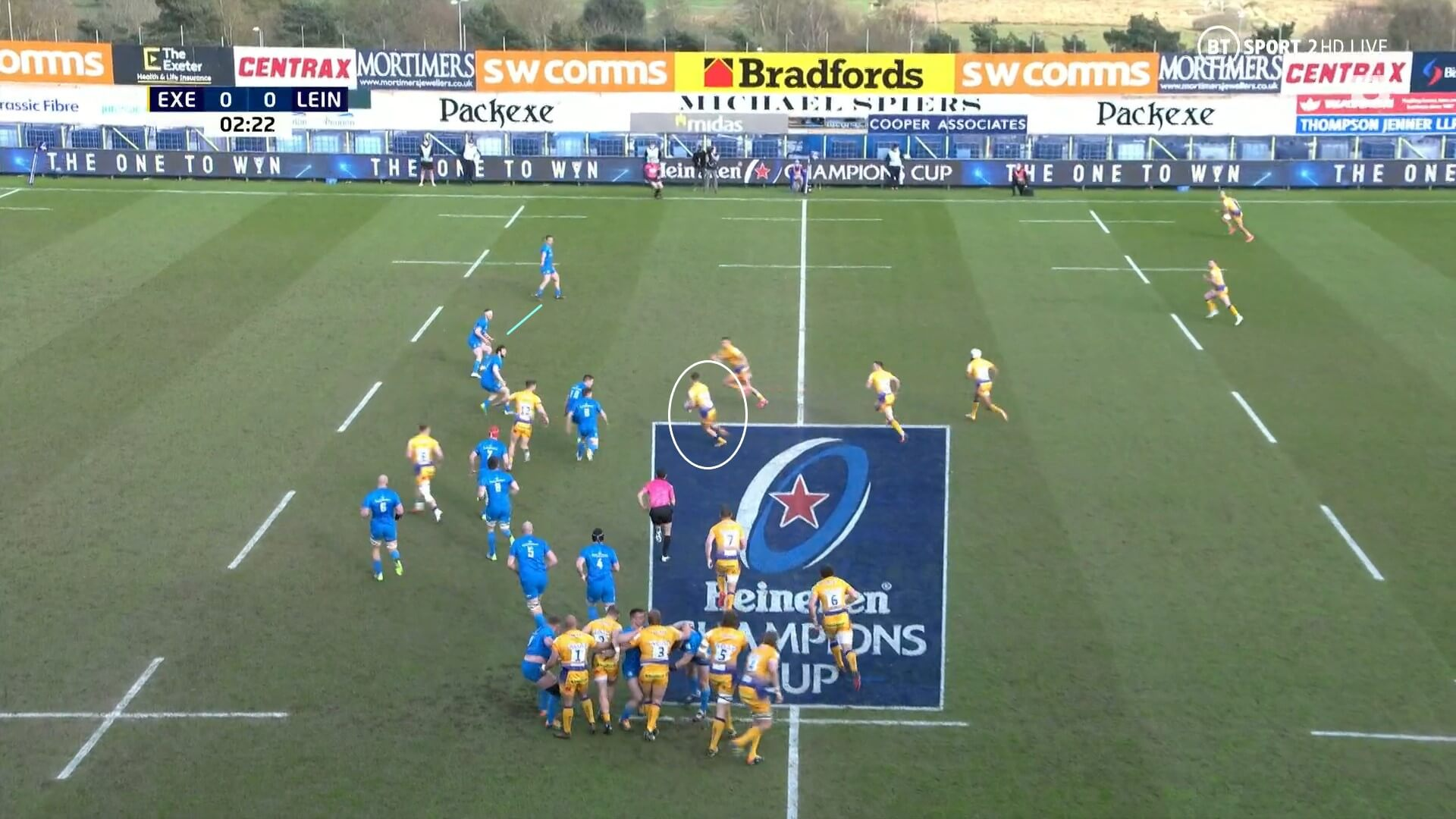 European Rugby Champions Cup 2020/2021: Exeter Chiefs v Leinster - tactical analysis tactics