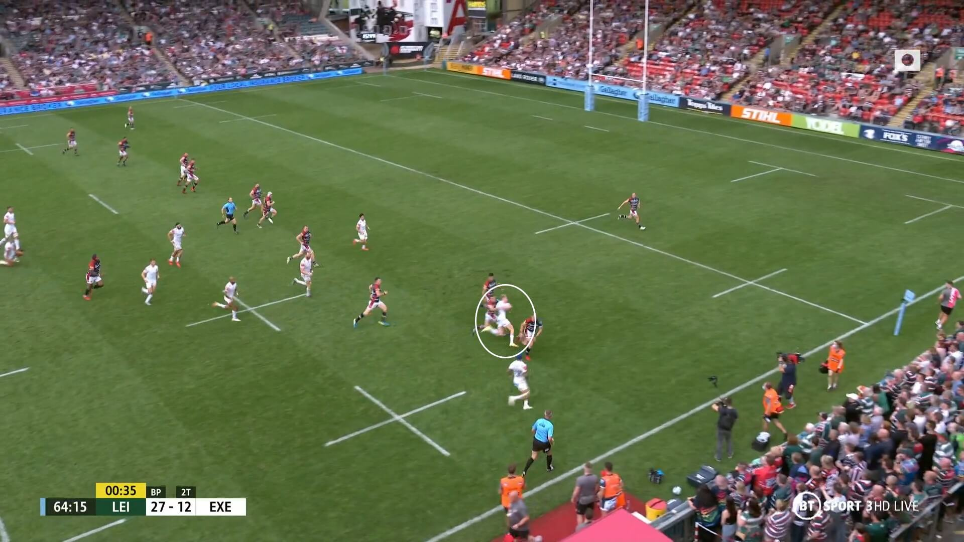 English Premiership 2021/2022: Leicester Tigers v Exeter Chiefs - tactical analysis tactics